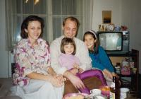 Rodinná fotografie v Praze (1994)