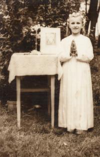 First communion, 1964