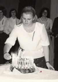 Anna Rákóczi, 1976