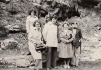 Esperanto club, Anna in the upper row to the right