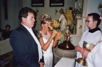 2008, wedding with František Rákoczi