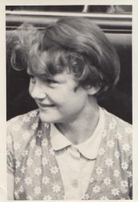 Eda Kriseová v mládí
