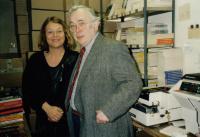S Josefem Škvoreckým v Kanadě