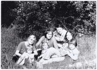 Na výletě s rodinou a s rodinou Borise Hybnera