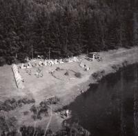 1938, camp, Peter, mask civil defense defense