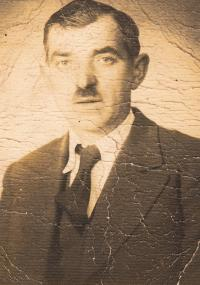 Dědeček Josefa Kovalčuka Josef z Radovesnice u Kolína