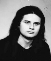 Fotografie Antonína Mikšíka z občanského průkazu v roce 1988