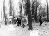 Výstava na Šibeníku v Uničově v roce 1986