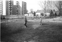 Z turnaje v badmintonu pořádaném v roce 1983 v Uničově