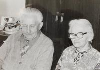 Parents Alios and Marie Dvořák