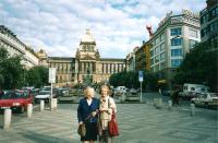 Sisters Olička and Vlastenka, Prague 1997