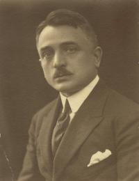 Jaroslav Horníček,father, 1922