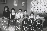 Christmas at the Novak Family, Montreal, Canada 1959