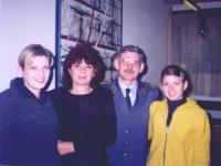 Rodina - manželka a dcery