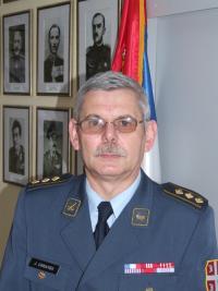 Děkan srbské Vojenské akademie