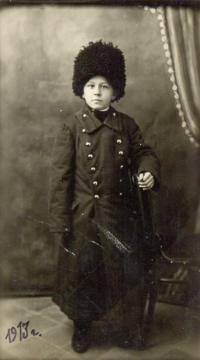 Angela Bajnokova's father Roman Jankevič like 11 years old boy in Manchuria in 1913.