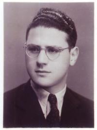 Jiří Diamant v roce 1954