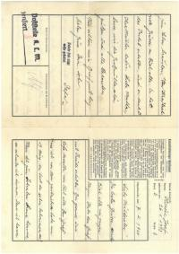 Dopis z Mauthausenu od otce (část 1)