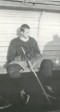 Josef Hořčic jako hokejista