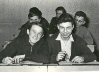 Josef Horčic ve škole