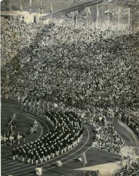 Zahájení olmypijských her v Mnichově