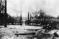 Jedno z míst kde došlo k upálení obyvatel Českého Malína