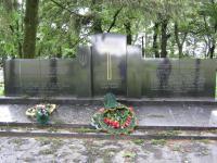 Památník Obětem v Českém Malíně v roce 2009