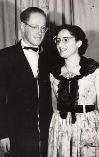 Jan and Eva Roček 1952