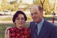 Jan and Eva Roček 1973