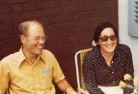 Jan and Eva Roček 1978