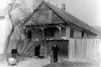 původní podoba domu, ve kterém pamětník bydlí