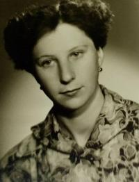 Marie Gablerová in the 1960s