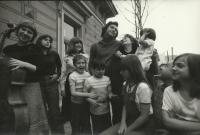 Kaplan Family in 1975