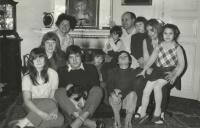 Kaplan Family in 1972