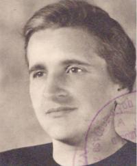 Marie Baranová po návratu z koncentráku, Praha 1946