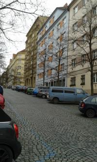 Baranova ulice pojmenovaná po Kurtu Baranovi, Praha 3 Žižkov