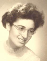 Elly Jouzová, portrét, Praha 50.léta 20. století