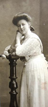 Mother as a young lady