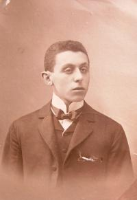 Father Kamil Kohn as a young man