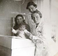 Mum Zdeňka Kohn, in her doctor's office, 1930s