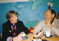 S Arturem Radvanským, 1990