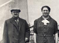 Prarodiče Julius Katz, Anna Katzová