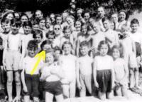 Kamenice, léto 1945