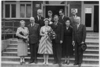 Svatební foto, 1960