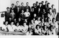 Školní třída 1942