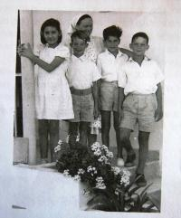 Kibbutz Hulda, 1949
