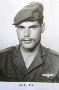 Yehoshua Rezek as the IDF soldier