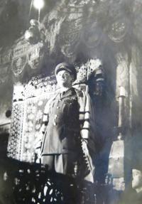 Hanuš Rezek as rabbi
