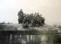 Czechoslovak soldiers at Dunkerque