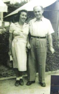 Ruth a Josef Mittelmannovi. Izrael, 50. léta 20. století.